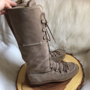 Timberland waterproof leather winter boots